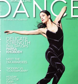 Dance Magazine December 2012 (Cover Photo)